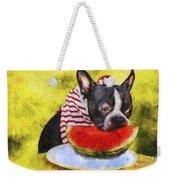 Watermelon Lunch Weekender Tote Bag