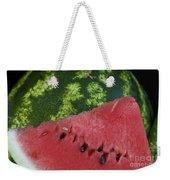 Watermelon Slice Weekender Tote Bag