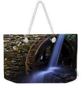 Watermill Wheel Weekender Tote Bag