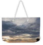 Waterscape In Gray And Yellow Weekender Tote Bag