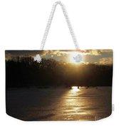 Watershed Sunset Weekender Tote Bag
