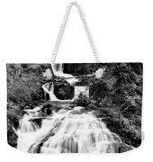 Water Slide Waterfall Bw Weekender Tote Bag