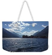 Waterton Lake Weekender Tote Bag