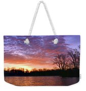 Waterville Sunrise Panorama 0002 0003 Signed Weekender Tote Bag