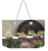 Waterwheel In Bayeux Weekender Tote Bag