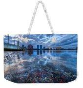 Watery Treasure Weekender Tote Bag by Debra and Dave Vanderlaan