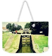 10945 Watford Locks On The Grand Union Canal Weekender Tote Bag