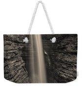 Watkins Glen Cavern Cascade #5 Weekender Tote Bag