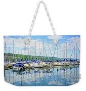 Glen Harbour Marina Weekender Tote Bag