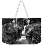 Watkins Glen Rainbow Falls #2 Weekender Tote Bag