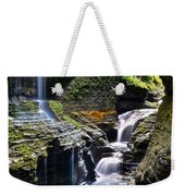 Watkins Glen Rainbow Falls Weekender Tote Bag
