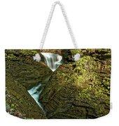 Watkins Glen Waterfall Weekender Tote Bag