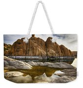 Watson Lake Arizona 11 Weekender Tote Bag