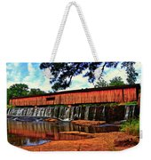 Watson Mill Covered Bridge 042 Weekender Tote Bag