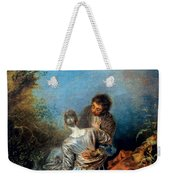 Watteau: False Step, C1717 Weekender Tote Bag