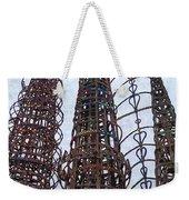 Watts Towers 2 - Los Angeles Weekender Tote Bag
