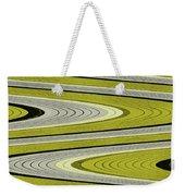 Wave Abstract Weekender Tote Bag
