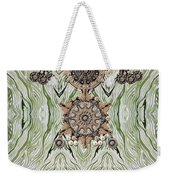 Wave And Jewels Weekender Tote Bag