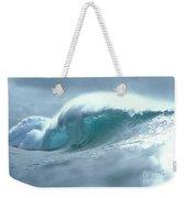 Wave And Spray Weekender Tote Bag