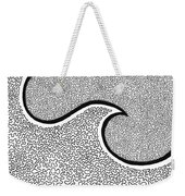 Wave And The Moon Weekender Tote Bag