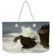 Wave At Shore Acres 2 Weekender Tote Bag