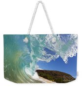 Wave Breaking Weekender Tote Bag