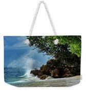 Wave Crashing Punta Cana Weekender Tote Bag