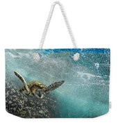 Wave Rider Turtle Weekender Tote Bag