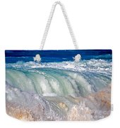 Wave Waterfall, Sunset Beach, Hawai'i Weekender Tote Bag