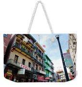 Waverly Place Panorama Weekender Tote Bag