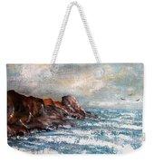 Waves 1 Weekender Tote Bag