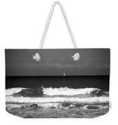 Waves 4 In Bw Weekender Tote Bag