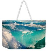 Waves Abound, Sunset Beach, Hawai'i Weekender Tote Bag