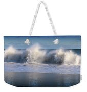 Waves Against The Wind Weekender Tote Bag