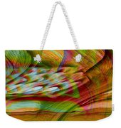 Waves And Patterns Weekender Tote Bag