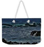 Waves And Wind Weekender Tote Bag