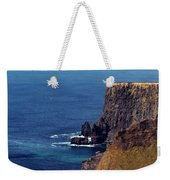Waves Crashing At Cliffs Of Moher Ireland Weekender Tote Bag