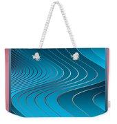 Waves Weekender Tote Bag