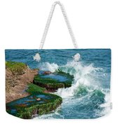 Waves Of La Jolla Weekender Tote Bag