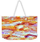 Waves Of Light Weekender Tote Bag