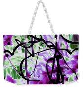 Waves Of Purple Weekender Tote Bag