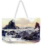 Waves Of Time Weekender Tote Bag