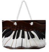 Wavey Piano Keys Weekender Tote Bag