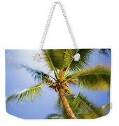Waving Palm Weekender Tote Bag