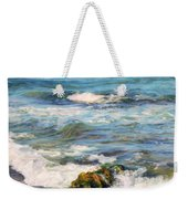 Sea Waves ...  Weekender Tote Bag