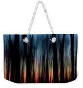 Wavy Sunset Weekender Tote Bag