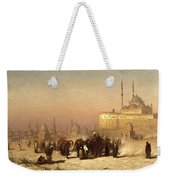 Way Between Old And New Cairo Weekender Tote Bag