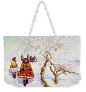 Way From The Church, Jozef Theodor Mousson, 1931 Weekender Tote Bag