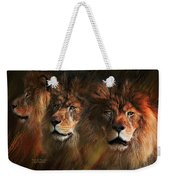 Way Of The Lion Weekender Tote Bag