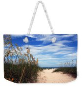 Way Out To The Beach Weekender Tote Bag